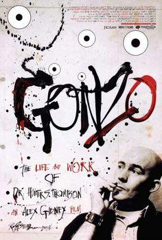Gonzo Movie poster - Steadman