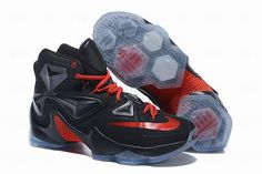 38a56026405 Fashion sneakers are available for you in our Nike Lebron 13 Mens online  store! Cheap Lebron Xiii Men Black Red Switzerland are of great quality and  have a ...