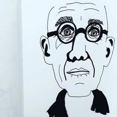 Work copyright  Andrew Oyl Miller oylmiller@gmail.com Society6 Shop - Instagram - Facebook The maestro. #tonykaye #americanhistoryx #film #movies #sketchbook #art #illustration #portrait #instaartist #oylmiller