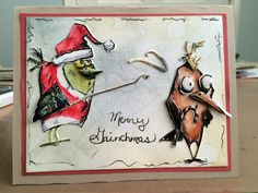 You're a Mean One Mr. Grinch   Welcome to the Crafty Card Gallery!