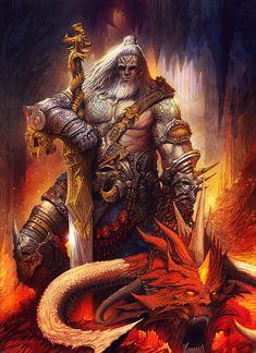 Diablo 3 Barbarian by AlexBoca on DeviantArt Fantasy Weapons, Fantasy Warrior, Fantasy Rpg, Dark Fantasy Art, Fantasy Artwork, Art Visionnaire, Character Art, Character Design, Sword And Sorcery