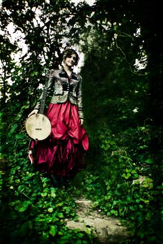 Abigail Washburn - she plays the banjo and speaks (and sings in) Mandarin. That's pretty awesome to me.