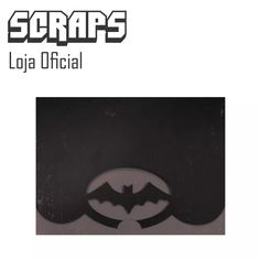 #0128 - Envelope Convite Morcego Batman - Arquivo Silhouette