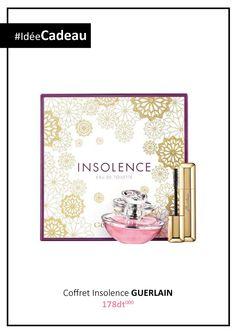 Idée Cadeau - Coffret GUERLAIN Insolence  Ce coffret contient:  - une Eau de Toilette 50ml  - un Mascara #Fatales #IdéeCadeau #Guerlain #Insolence #GiftSet