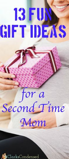 It's easy to know what to get a first-time mom for a gift - but a second-time mom? That can be a little trickier. Here are some of the best gift ideas for second-time moms.