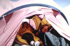 Anatoli taught me to REST while at Base Camp