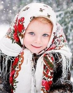 LOVELY RUSSIAN CHILD.