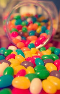 Jelly bean mmm..