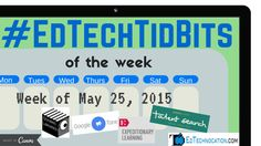 #EdTechTidBits of the Week! (5/25/15) | by @EdTechnocation | #Chrome #Goobric