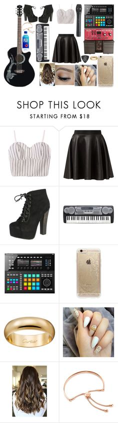 """Untitled #670"" by trustsalvatore ❤ liked on Polyvore featuring Cameo Rose, Breckelle's, Rifle Paper Co, Kirei and Monica Vinader"
