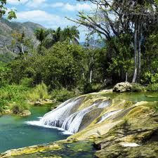 mini waterfall; nature