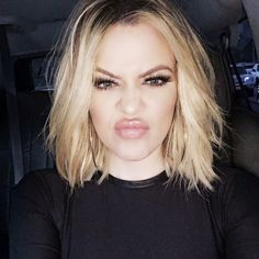 4. When you're in the mood for a little shine, just swipe a clear or matching lip gloss on your lips for extra shimmer. Khloé's makeup artist, Joyce Bonelli, loves using Kevyn Aucoin The Lip Gloss on her.