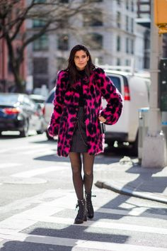 NYFW Model-Off-Duty Street Style: See the Pics   Teen Vogue