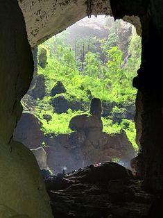 """Sơn Đoòng """"Die Sơn-Đoòng-Höhle (""""Bergflusshöhle"""") ist eine Höhle im Nationalpark Phong Nha-Ke Bang in Vietnam, 50 Kilometer nördlich der Provinzhauptstadt Dong Hoi und 450 Kilometer südlich von Hanoi. Sie wurde 1991 von einem Einheimischen entdeckt, und im Jahr 2009 durch eine britische Gruppe von Höhlenforschern erforscht"""""""