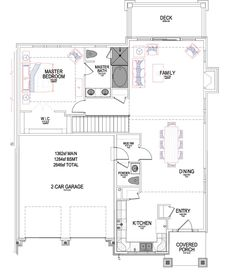 Reynolds Ivory Homes Floor Plan - Main Level