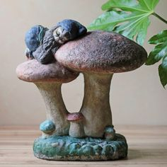 Garden Mushroom And Gnome now featured on Fab.