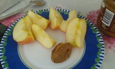 Best snack: an apple and some pb