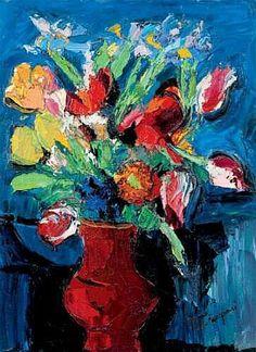 PIERRE AMBROGIANI (1907-1985) - BOUQUET DE