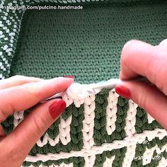 Crochet Basket Tutorial, Crochet Basket Pattern, Crochet Motif, Crochet Yarn, Crochet Stitches Patterns, Crochet Designs, Knitting Patterns, Tapestry Crochet, Crochet Videos