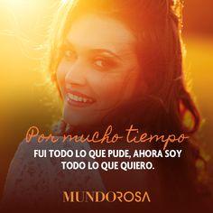 frases, tiempo, mujer, motivación http://www.mundorosa.com.mx
