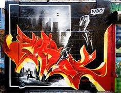MadC / SIN CITY / Graffiti
