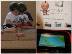 As seen on The View Today - Our review of the Vinci Genius: An Early Learning Systems for Babies, Toddlers, & PreSchoolers