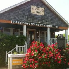 Dream job = tiny coffee shop/bookstore at the beach. This one's a favorite in Duck, NC.