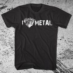 Hey, I found this really awesome Etsy listing at https://www.etsy.com/listing/83196851/i-heart-metal-shirt-screaming-kitty-i