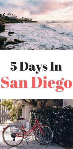 Heading to America's Finest City soon? Here's a complete San Diego itinerary for 5 days including visiting La Jolla Gaslamp Quarter Little Italy Balboa Park and the picturesque North County beach cities of Del Mar Encinitas and Carlsbad San Diego Vacation, San Diego Travel, San Diego Beach, San Diego Trip, San Diego Balboa Park, North Park San Diego, La Jolla San Diego, Beach Vacation Tips, Beach Trip