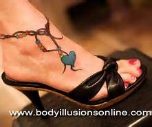 Anklet Tattoo Ideas - Bing Images