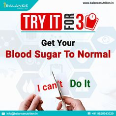 www.balancenutrition.in/manage-diabetes-and-cholesterol.php Our unique 30 day program designed for all of you looking at weight loss but also are battling high sugars or cholesterol! Please contact us at care.garima@balancenutrition.in or 9820543329 to know more.  3/3