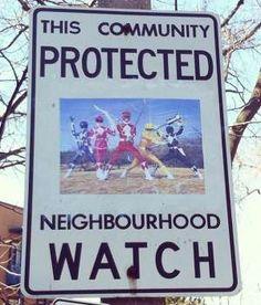 Neighbourhood Watch – A street artist has fun hijacking the neighborhood watch signs…