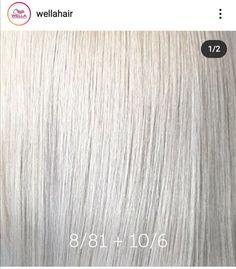 Hair Color Guide, Hair Color Formulas, Wella Toner, Hair Toner, Icy Blonde, Blonde Color, Silver Toner, Icy Hair, New Hair Do