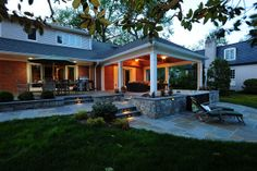 Patio and Pavilion in Rockville, Maryland by Design Builders, Inc. by Decks In Maryland, via Flickr