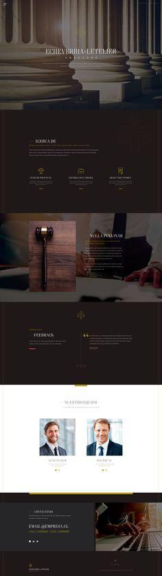 Diseño gráfico Diseño web Interfaz y exp. de usuario Web Inspiration, Lawyer, Web Design, Web Development, Lawyers, Design Web, Website Designs, Site Design