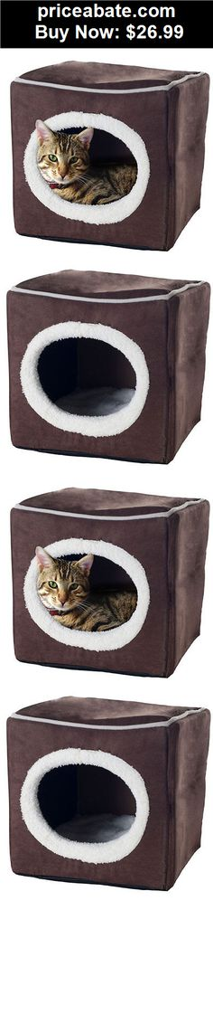 Animals-Dog: Pet Soft Bed Cat Dog Pet Warm Cozy Hause Cube - BUY IT NOW ONLY $26.99