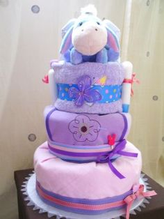 diaper cake baby shower gift
