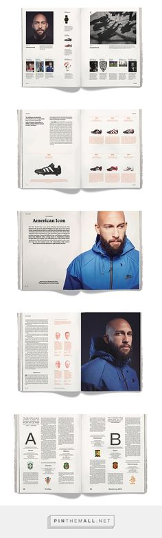 Rabona Magazine on Behance - created via http://pinthemall.net