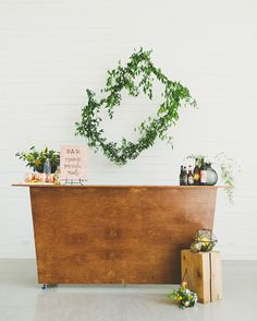 Art Inspired Wedding bar
