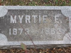 Myrtie E. Hemingway (1873 - 1963) - Find A Grave Photos Myrtie E. Hemingway Memorial Photos Flowers Edit Share Learn about upgrading this memorial... Birth: 1873 Death: 1963    Burial: Hollenbeck Cemetery  Columbiaville Lapeer County Michigan, USA