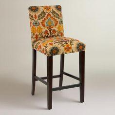 Adobe Santa Maria Kerri Upholstered Barstool   World Market