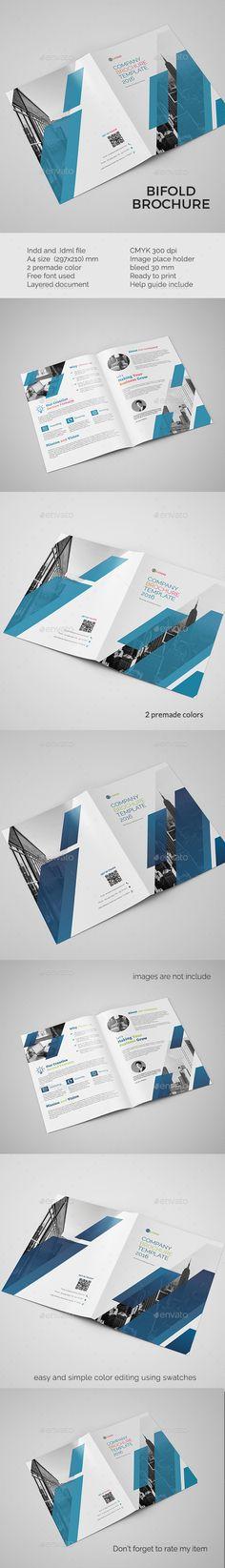 Corporate bifold brochure Design Idea - Corporate Brochure Template InDesign INDD. Download here: http://graphicriver.net/item/corporate-bifold-brochure/16477735?s_rank=345&ref=yinkira