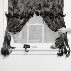 We've seen a lot of hair art in the artosphere, including embroidered portraits made with real human hair. But the combination of photography, installation, and sculpture in Rebecca Drolen's surreal works recently caught our eye (first spotted on… Indian Hair Cuts, Surrealism Photography, Levitation Photography, Exposure Photography, Water Photography, Abstract Photography, Surreal Photos, Photographs, Photography Series