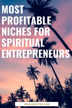 Want to know the most profitable spiritual business niches to make money from?This is for my spiritual entrepreneurs: Coaches, Healers, Consultants. Spiritual Coach, Spiritual Healer, Spiritual Life, Spiritual Awakening, Spirituality, Reiki Healer, Business Marketing, Business Tips, Online Marketing