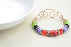 Bead and Wire Bracelet Tutorial