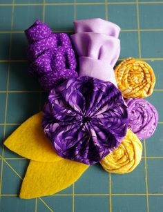 DIY Fabric Corsage Tutorial - Mothers day?