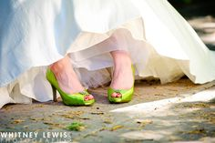 My Lime Green Wedding Shoes!