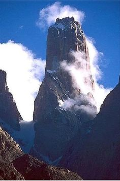 Trango Towers - Baltistan, Pakistan The granite Trango Towers group has seen some of the most difficult and significant climbs ever accomplished, due to the combination of altitude, total height of the routes, and the steepness of the rock. Wiki