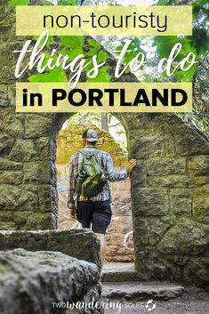 Portland, Oregon is known for breweries, green space and a quirky hipster vibe that's sure to make you fall in love. There are tons of things to do in this super likable city, and we've rounded up the best of them: From must see sights to the hidden gem Oregon Vacation, Oregon Road Trip, Oregon Travel, Travel Usa, Travel Portland, Travel Tips, Portland Maine, Hiking In Portland Oregon, Best Hikes Near Portland