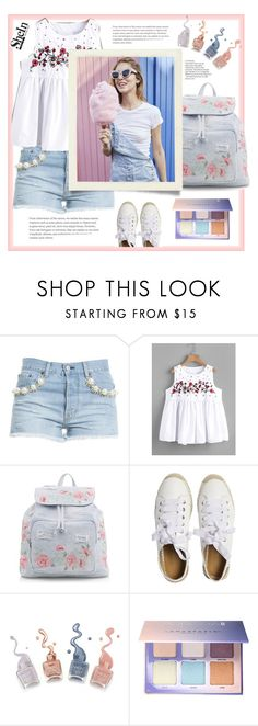 """""""Shein."""" by natalyapril1976 ❤ liked on Polyvore featuring Forte Couture, New Look, Matt Bernson and Anastasia Beverly Hills"""